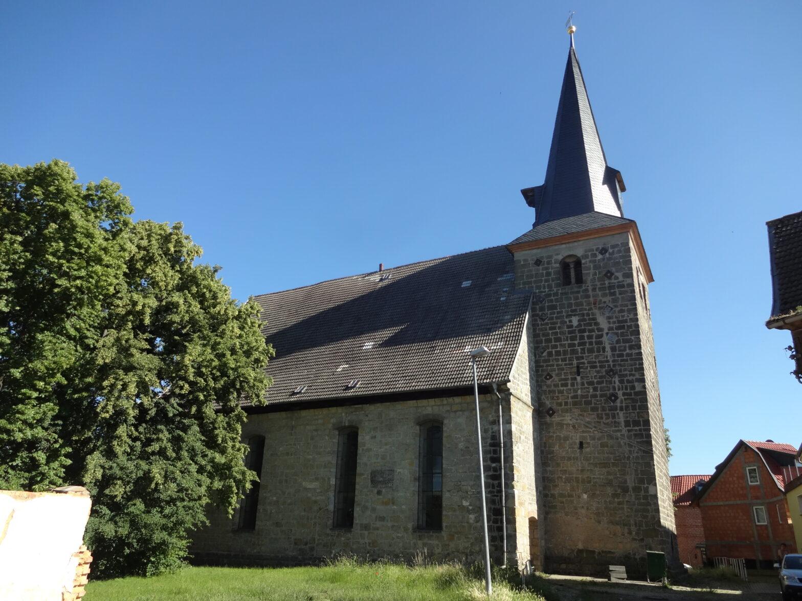 Die Kirche Harsleben